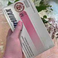 Перчатки нитрил-виниловые розовые S Nitrimax, 50 пар