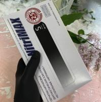 Перчатки черные M (3,5гр), NitriMax