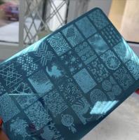 Пластина Lesly 9,5x14,5cm #35