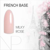 Камуфляжная база Nartist French Base Milky Rose, 12 мл