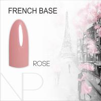 Камуфляжная база Nartist French Base Rose, 12 мл