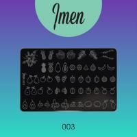 Пластина для стемпинга 03 Imen