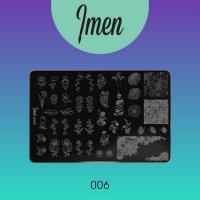 Пластина для стемпинга 06 Imen