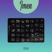 Пластина для стемпинга 24 Imen