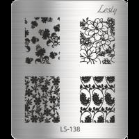 Пластина Lesly 5x6см  LS-138
