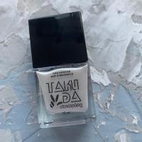 Лак для стемпинга TAKIDA 034 жемчужно-белый перл хром, 10мл