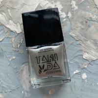 Лак для стемпинга TAKIDA 045 серебро, 10мл