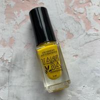 Лак для стемпинга TAKIDA 008 желтый, 5мл