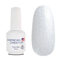 Top gel galaxy Hurricane топ с блестками American Creator, 15мл