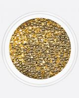 Полусфера полая золото 1 мм Artex