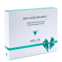 Набор против несовершенств кожи Anti-Acne Balance, ARAVIA Professional