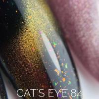 Гель-лак 84 'Cats Eye' Sova De Luxe, 15мл