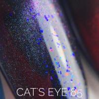 Гель-лак 85 'Cats Eye' Sova De Luxe, 15мл