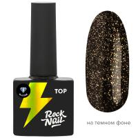 Топ RockNail Glitter Top, 10мл