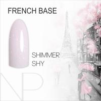 Камуфлирующая база Nartist French Base Shimmer Shy, 12 ml