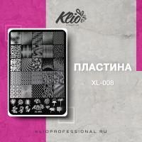 Пластина для стемпинга Klio XL-008