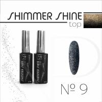 Топ с шиммером Nartist Top Shimmer Shine №9, 6мл